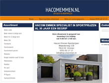 Tablet Preview of hacomemmen.nl